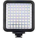 Godox LED 64 Luce Video Fill Light LED per DSLR Fotocamera Videocamera mini DVR come la Luce di Riempimento per Nozze Intervista del Notiziario Macrofotografia