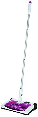 Bissell 41051 Scopa Elettrica Ricaricabile, 8 W, 75 Decibel, Bianco E Viola