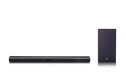 LG SJ4 Soundbar, Nero