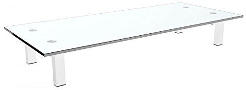 RICOO Supporto da tavolo per TV Montaggio FS8235-W Staffa per televisore base piatto piedistallo...