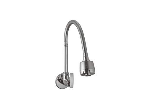 10x Sink Tap Flexible Faucet Softy with Double Flow (Chrome, Medium)