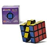 Elegante Nuevo Shengshou V3 Aurora (Jiguang) 3X3X3 Speed Cube Rompecabezas 3X3. Color Negro.