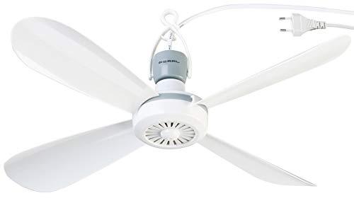 PEARL Ventilator: Mobiler Deckenventilator VT-145.D, 230 Volt, mit Aufhänger, Ø 40 cm (Deckenventilator mit Akku)