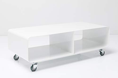 KARE Design Salone MTV Mobile, Bianco, 30 x 90 x 42 cm