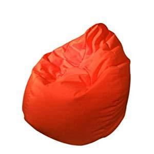 OUTLETISSIMO Poltrona Sacco Pouf POUFF Puff PUF Rosso Modello Mega 90X135cm Nuovo Offerta