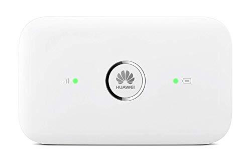 HUAWEI - 4G Travel LTE Mobile Wi-Fi  Hotspot, freigeschaltet für alle World-Netzwerke, bis zu 150 MBit/s, Weiß