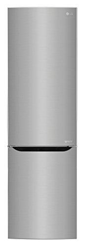 LG GBP20PZCFS Libera installazione 343L A+++ Acciaio inossidabile frigorifero con congelatore