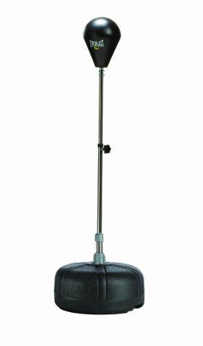 Everlast 2260, Palla Pugliato Nero Unisex Adulto, Regolabile Fino a 1,65cm di Altezza