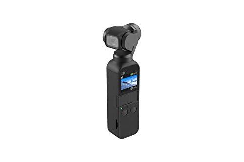 DJI Osmo Pocket Versione 2 - stabilizzatore 3 assi con videocamera 4K integrata, risoluzione fino a 4K@60 fps e foto da 12 MP - Nero