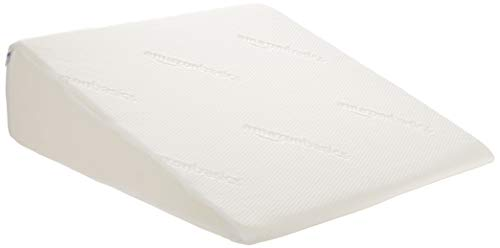 "AmazonBasics Memory Foam Bed Wedge Pillow - Mini, 24""x24""x7"""