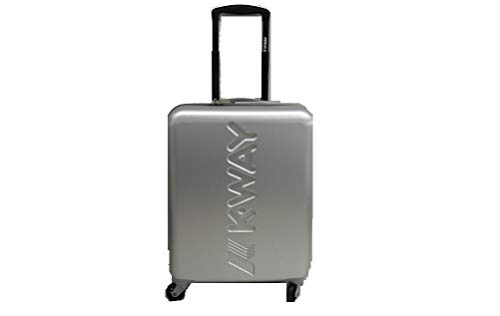 Trolley K-Way k-air metal cabin size spinner greysilver