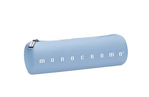 Pigna Monocromo Astuccio formato Tombolino in Silicone, Azzurro Pastel