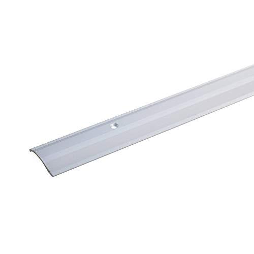 Profilo di compensazione di livello, 40mm x 100cm, di colore argento, altezza: 2-16mm, forato,...