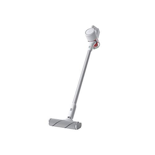 Xiaomi Mi Handheld Vacuum Cleaner - Aspirador escoba, duración batería hasta 30 minutos, 5 niveles de filtración, motor hasta 100,000 rpm, color blanco
