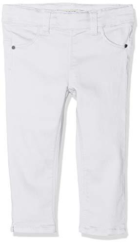 Name It NMFPOLLY TWIBATINNA Capri Legging Pantaloni, Bianco Bright White, 104 cm Bambina