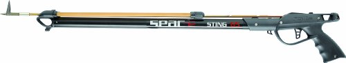 Seac Sting Arbalete - Fucile ad elastico, Nero, 65