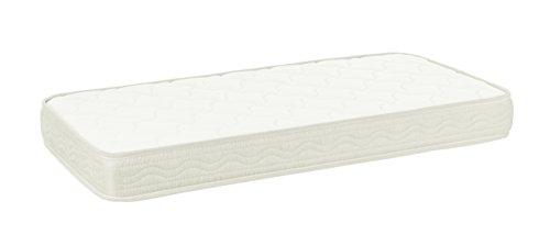 SLEEPAA Materasso per lettino culla 117x57 schiuma foam Cameretta biancheria bambino traspirante...