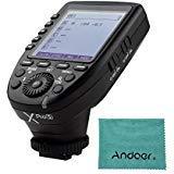 specifiche tecniche: Marca: Godox Modello: XProS Fotocamera compatibile: supporto per fotocamera serie Sony (TTL Autoflash), per le fotocamere con presa PC SYNC Controllo dell'esposizione flash: supporta flash automatico TTL, flash manuale, flash str...