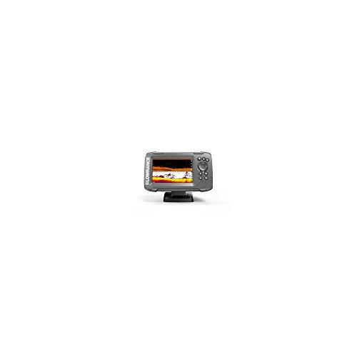 Ecoscandaglio GPS HOOK² 5 SplitShot trasd. poppa 2D/Downscan - LOWRANCE