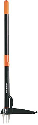Fiskars 139910 - Extractor de malas hierbas