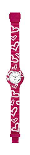 Hip Hop Watches - Orologio da Donna Hip Hop Fucsia HWU0906 - Collezione Be Loved - Cinturino in...