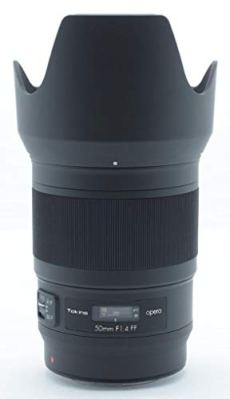 Tokina Opera - Objetivo de 50 mm (f1.4, Full Frame, Montura Canon EF) Color Negro