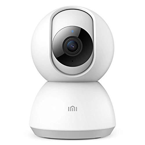 Telecamera di Sorveglianza , IMI 1080P HD Videocamera di Sicurezza WiFi, 360 ° Pan / Tilt Audio Bidirezionale,Wireless di Sicurezza Track, Activity Alert,Visione Notturna, IP Camera per Android iOS