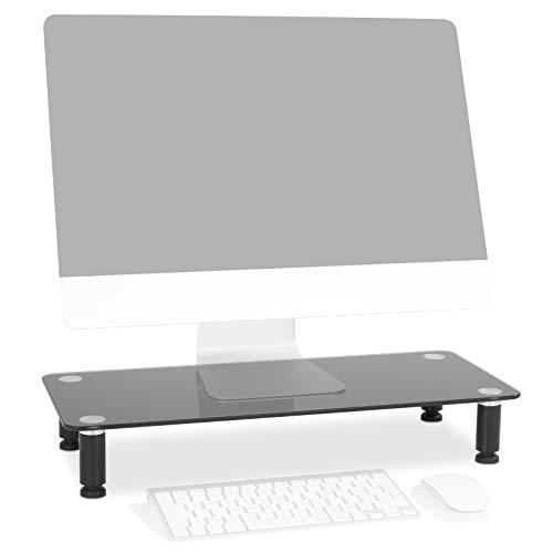 Duronic DM052-2 ssupporto Monitor scrivania Supporto da Tavolo Regolabile per Monitor Schermo Laptop...