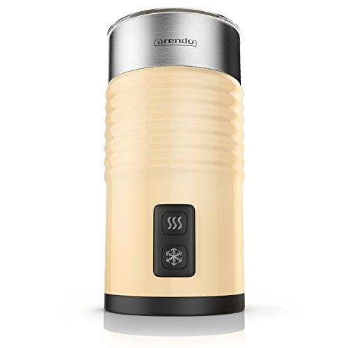arendo Milkloud Cream - Il Montalatte Elettrico Premium - Schiumatore Latte Caldo e Freddo -...