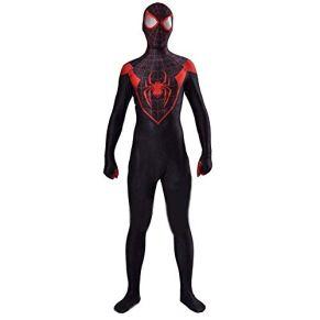 WEDSGTV Niños Niños Ropa para Adultos Traje De Mono Traje De Spiderman Fiesta De Carnaval Ultimate Cosplay Spider Man,Child-M