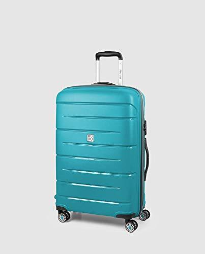 Roncato STARLIGHT 2.0, Trolley a 4 Ruote, Unisex-Adulto, 71 cm, 80 litri, Blu (Azul Aguamarina)