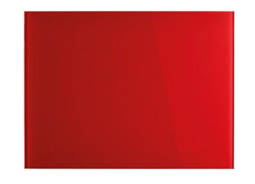 Magnetoplan 13403006di design vetro Boards, magnetico, 800X 600mm, colore: rosso intenso