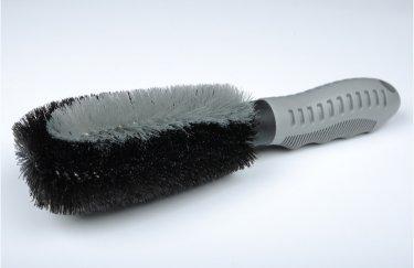 cisixin auto brosses pour jantes avec poign e en plastique brosse pour nettoyage jantes auto. Black Bedroom Furniture Sets. Home Design Ideas