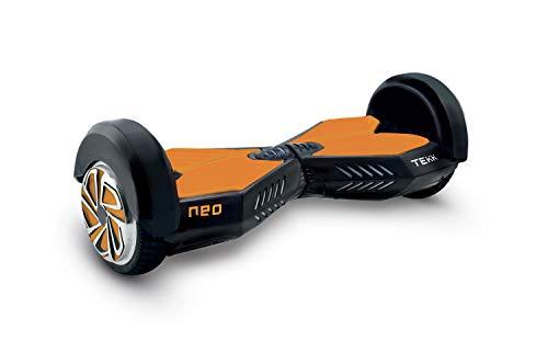 Itekk Hoverboard 8'' Neo con Bluetooth, Assicurazione AXA Tutela Famiglia Inclusa, Arancione, Unisex...