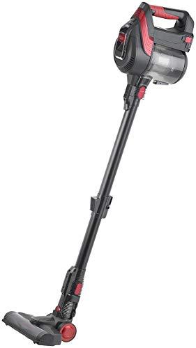 Sichler Haushaltsgeräte Akkusauger: 2in1-Akku-Zyklon-Staubsauger mit elektrischer Bürste, 120 Watt, 21,9 V (Accu Staubsauger)