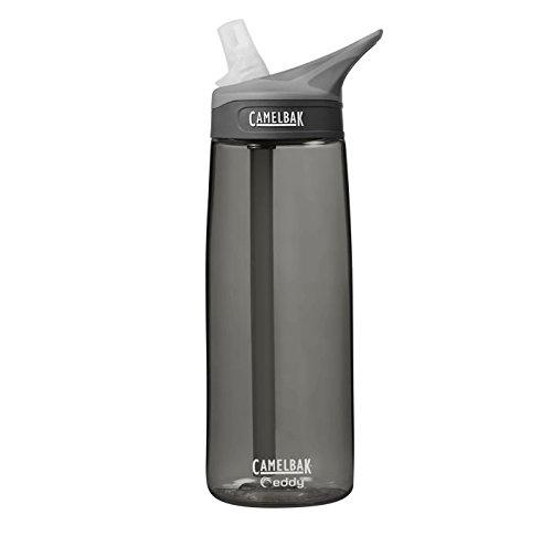 CamelBak Eddy Botella de Agua, Unisex Adulto, Charcoal, 600 ML