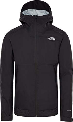 The North Face Millerton Giacca, Uomo, Nero (TNF Black/High Rise Grey Campfrprt), M