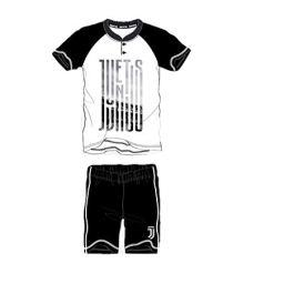 F.C. Juventus – Pigiama Due Pezzi Corto in Jersey Adulto – Varie Taglie Disponibili