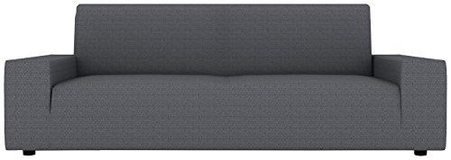 Eiffel Textile Kivik-Custodia Divano 2posti 110 x 195 x 2 cm Grigio