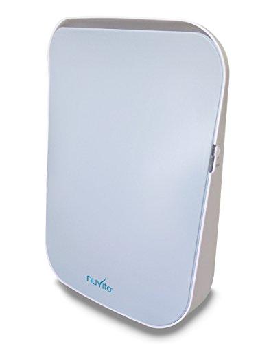 Nuvita 1850 Purificatore d'aria, Depuratore e Ionizzatore - Ideale per le allergie - Elimina il 99,97 % di polveri sottili, batteri, pollini, acari e muffe, fumo di sigaretta ed odori di cucina