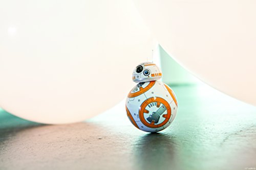 31 e%2BshF5NL - Sphero R001ROW, Robot electrónico droide BB-8 Star Wars (R001ROW)