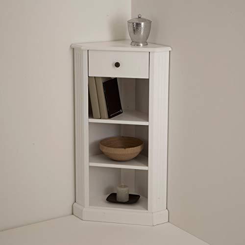 La Redoute Interieurs Armadio Angolare Laccato Bianco, Authentic Style Tu
