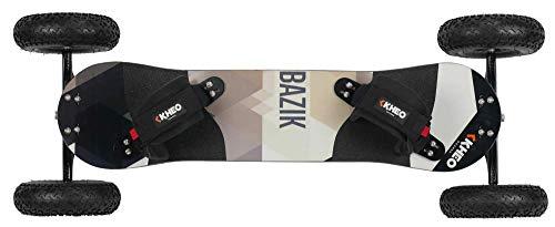 KHEO Unisex - Adulti Bazik v3 (9 inch Wheels 12 mm Trucks), Multicolore, One Size