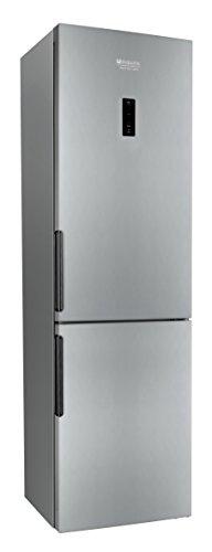 Hotpoint LH8FF2OA Libera installazione 301L A++ Argento frigorifero con congelatore