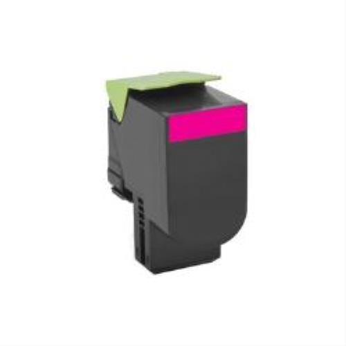 Lexmark 80C20M0 Return Program Toner Cartridge, magenta