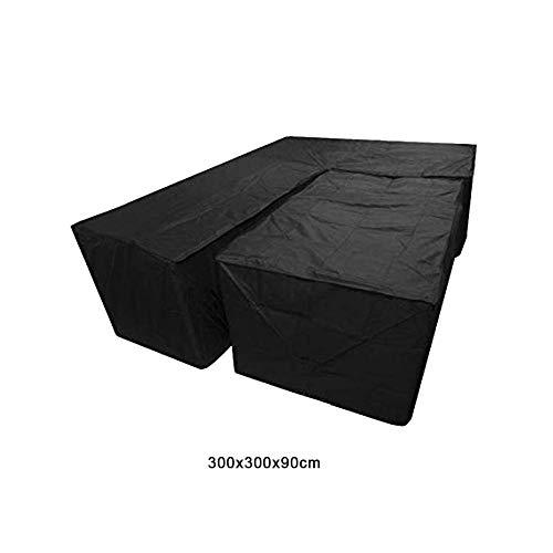 Molare 2 Pezzi Divano componibile Impermeabile L Forma Antipolvere Copertura cubo Angolo mobili...