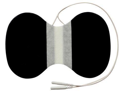 1 x Nacken - Elektrode / Pad, 150x95mm gross, für TENS EMS Reizstromgerät mit 2mm-Stecker-Anschluss