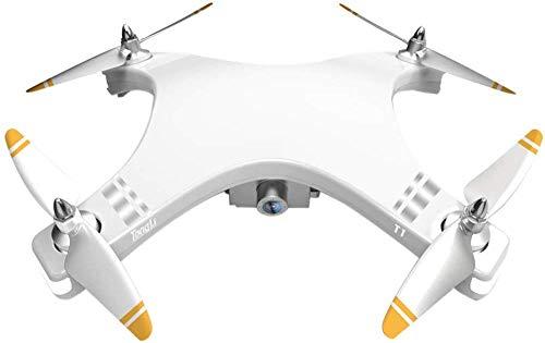 FEE-ZC Drone Pieghevole Mini T1 Pieghevole con videocamera HD 1080P, quadricoptero Professionale per...