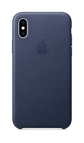 Apple Coque en Cuir (pour iPhoneXS) - Bleu Nuit 23