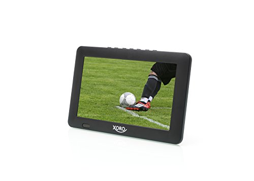 Xoro PTL 900 22,9cm (9 Zoll) Tragbarer DVB-T/T2 Fernseher (H265 HEVC, Mediaplayer, USB 2.0, MicroSD, Teleskopantenne, Fernbedienung)